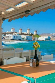 Mykonos island, Greece 1 of my favorite places! Places Around The World, Oh The Places You'll Go, Great Places, Places To Travel, Places To Visit, Vacation Destinations, Dream Vacations, Vacation Spots, Beautiful World