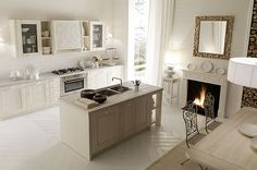 Cucine country chic country living stile moderno cucine ...
