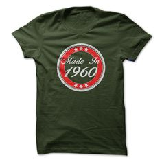 Made in 1960 T-Shirts, Hoodies. Get It Now ==► https://www.sunfrog.com/Birth-Years/Made-in-1960-fevy.html?41382