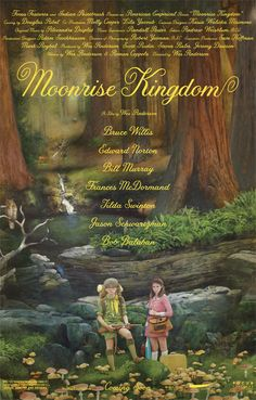 A great movie poster from Moonrise Kingdom! Wes Anderson's classic love story is an adventurous tale full of innocent charm! Ships fast. 11x17 inches. Check out the rest of our fun selection of Wes An