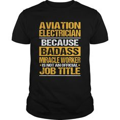 AVIATION-ELECTRICIAN Check more at http://electricianteeshirts.com/2017/01/02/aviation-electrician-2/
