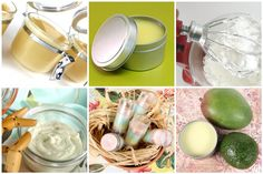 six different lotion bar/balm recipes from SoapQueen Blog (Brambleberry)