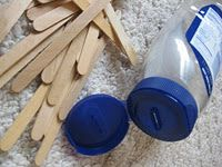 Quiet Box #3 - I love the idea of using a mayo jar and popsicle sticks - easily found and made.