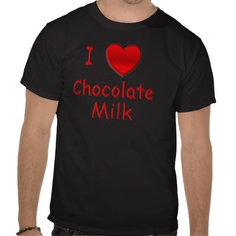 Sold I Heart Chocolate Milk T Shirts