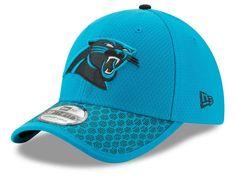 new arrival 56233 324de Carolina Panthers New Era 2017 Official NFL Kids Sideline 39THIRTY Cap