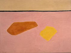 "Milton Avery, Beach Blankets (1960), 53-5/8"" x 71-5/8"", oil on canvas, Wichita Art Museum Art, Wichita, KS"