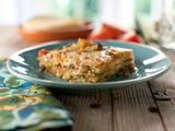 Zucchini-Tortilla Casserole (Pastel Azteca) Recipe : Marcela Valladolid : Recipes : Food Network/ Mexican Lasagna