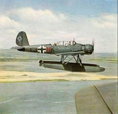 Arado AR 196 - pin by Paolo Marzioli Aircraft Parts, Ww2 Aircraft, Fighter Aircraft, Military Aircraft, Luftwaffe, Fighter Pilot, Fighter Jets, Aviation World, Aviation Art