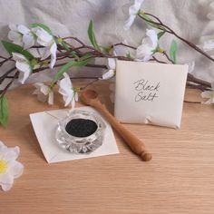 Hand Blended Black Salt   Ingredient for Spells and Rituals   BrianaDragon Creations