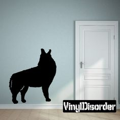 Wolf Wolves Wall Decal - Vinyl Decal - Car Decal - 002