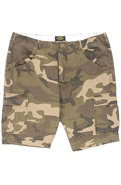 The Bomber Shorts in Rip Stop CamoGreen 36