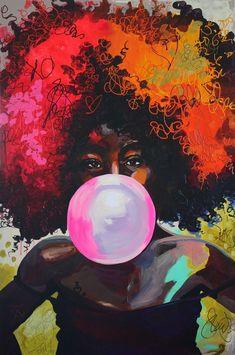 Galleri Anette Tjrby Manege Artistic view t Art Artist Kunst Inspo, Art Inspo, African American Art, African Art, Art And Illustration, Black Art Pictures, Ecole Art, Black Artwork, Black Girl Art