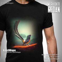Kaos MURAI BATU MEDAN, Kaos Murai, Kaos Burung, Kaos3D, Kaos KICAU MANIA, Kaos Komunitas Burung, https://instagram.com/kaos3dbagus, WA : 08222 128 3456, LINE : Kaos3DBagus