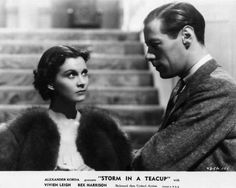 Vivien Leigh & Rex Harrison