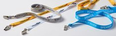 Yes, we love our lanyards. Lanyards are the easiest and most convenient way to wear a name badge or ID at any event. Recycling Business, Textile Recycling, Recycle Symbol, Plastic Manufacturers, Plastic Industry, Recycling Facility, Medium Sized Dogs, Name Badges, Lanyards
