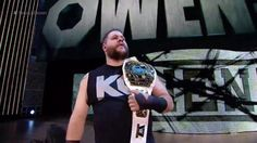 Owens on Smackdown Kevin Owens, Wwe, Champion, Sports, Mens Tops, Hs Sports, Sport