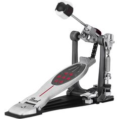 NEW!!! Pearl P2050C Eliminator Redline Bass Drum Pedal - Chain.  Pearl's original PowerShifter Eliminator was a giant leap ahead in bass drum pedals. The world's only pedal featuring the patented Interchangeable Cam System, Eliminator's virtually unlimited tunability lets the player lock in totally personalized feel, power and speed. The Eliminator: