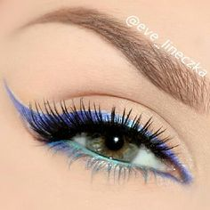Colorful winged liner