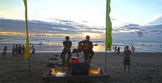 In Legian - Sunset, beach, drinks and live music...enough for me