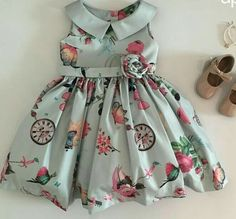 Baby Girl Party Dresses, Little Girl Dresses, Baby Dress, Girls Dresses, Frock Patterns, Kids Suits, Girl Outfits, Fashion Outfits, Baby Sewing