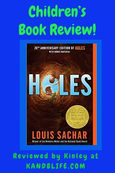 How have I never read this book? This book review will not tell you why the boys are digging holes but this book review will tell you to read it! Holes Book Review, Love Book, This Book, Louis Sachar, Digging Holes, Newbery Medal, Book Reviews For Kids, Bad Kids, Happy Reading