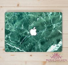 Green Marble MacBook Case MacBook Case. Hard by MacBookCasesandCo