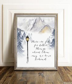 Chronicles of Narnia Art Print C.S. Lewis Printable Quote