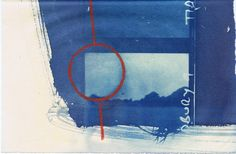 Ley Lines : Tidbury Ring, blueprint 1 Ley Lines, Cyanotype, Art Object, Objects, Ring, Drawings, Inspiration, Painting, Deep