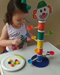 Creative Activities For Kids, Preschool Learning Activities, Indoor Activities For Kids, Infant Activities, Circus Crafts, Mothers Day Crafts For Kids, Montessori Toys, Business For Kids, Kids Education