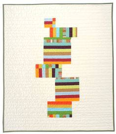 Contemporary Baby Quilt - Blocks. $135.00, via Etsy.    After I win the lottery...