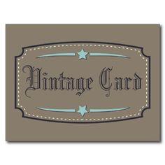 Shop Vintage card created by AlexCiopata.