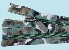 18 Forest Camo Nylon Coil Zipper  Decorative Zipper  by zipperstop, $3.69