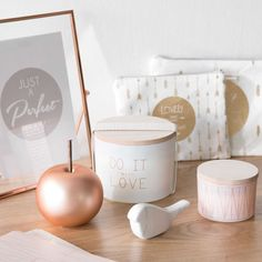 COPPER white tea scented candle