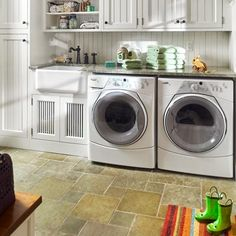 Read This Before You Redo Your Laundry Room: Our expert advice on everything from energy-wise machines and thrifty flooring options to the best labor-saving layout and how to safeguard the house from a potential flood or fire