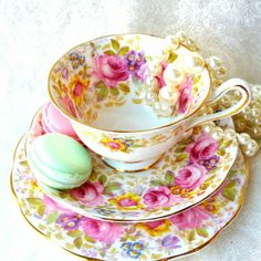 Check out this item in my Etsy shop https://www.etsy.com/listing/241266227/royal-albert-serena-vintage-trio-tea-cup