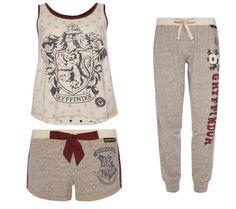 Ladies HARRY POTTER HOGWARTS GRYFFINDOR PJ Set or Separates Shorts Vest Primark