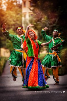 Traditional Dancers in India