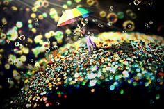 Surreal water drops!