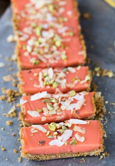 This grapefruit tart recipe starts with a crunchy graham cracker crust with toasted coconut and is filled with a sweet, tangy grapefruit curd.