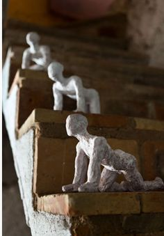 sculptures by; Manel Galia
