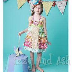 mustard pie rainbow juliet dress