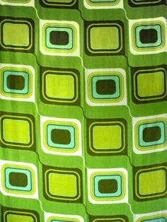 vintage curtain fabric Cool Patterns, Vintage Patterns, Fabric Patterns, Vintage Designs, Retro Vintage, Print Patterns, Vintage Curtains, Vintage Fabrics, Surface Design