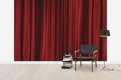 Red Velvet Background - Wall Mural & Photo Wallpaper - Photowall