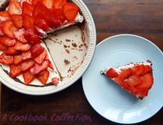 Easy Strawberry and Chocolate Tart | A Cookbook Collection