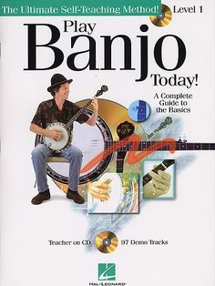 Play Banjo Today! Level 1 (Book & CD)