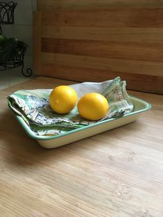 A personal favorite from my Etsy shop https://www.etsy.com/listing/495889124/vintage-enamel-tray-by-kockums