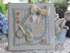 A sweet card for baby boy!  Details can be found here:  http://jerrikay.blogs.splitcoaststampers.com/2014/11/25/little-boy-blue/