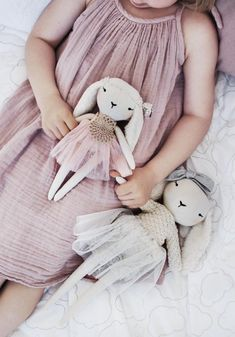 Handmade Rabbit Dolls | lespetitesmainss on Etsy