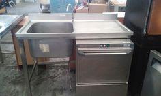 Fregadero con patas medidas 120x60 PRECIO 250€ y lavaplatos 450 se venden juntos o por separado.