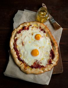 Spicy Tomato & Egg Pizza